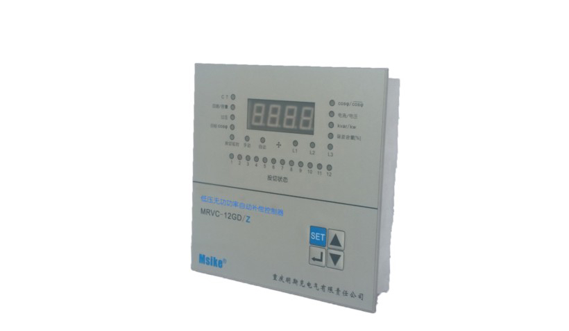 BRVC -DZ Low voltage reactive power auto-compensation controller