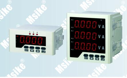 MSX-UIF series Current voltage frequency meter
